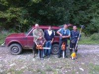Priprema za lovački višeboj 2013.