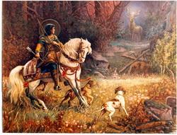 Sveti Jevstatije, lovačka slava