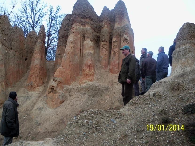 Pobratimi u posjeti pješčanim piramidama nedaleko od Foče