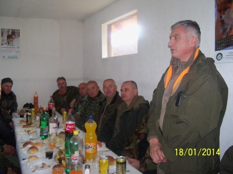Pobratim iz Kragujevca, Milosav Zimonjić zahvaljuje se domaćinu na gostoprimstvu